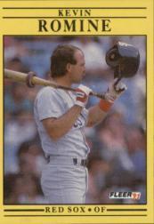 1991 Fleer #113 Kevin Romine