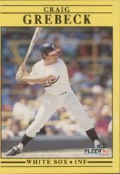 1991 Fleer #120 Craig Grebeck