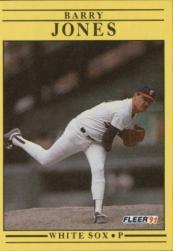 1991 Fleer #124 Barry Jones