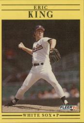 1991 Fleer #126 Eric King