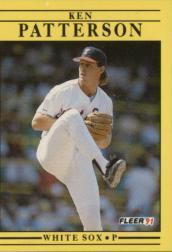 1991 Fleer #132 Ken Patterson