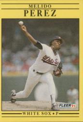1991 Fleer #133 Melido Perez