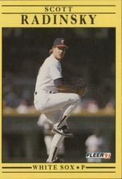 1991 Fleer #135 Scott Radinsky