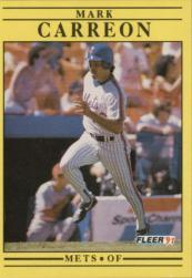 1991 Fleer #142 Mark Carreon