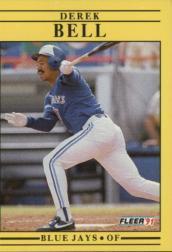 1991 Fleer #168 Derek Bell
