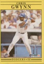 1991 Fleer #202 Chris Gwynn