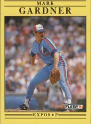 1991 Fleer #233 Mark Gardner