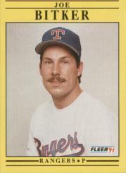 1991 Fleer #281 Joe Bitker RC