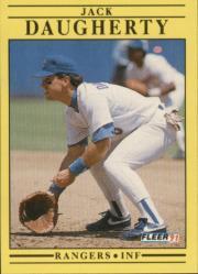 1991 Fleer #284 Jack Daugherty