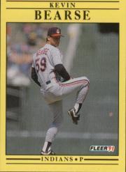 1991 Fleer #361 Kevin Bearse