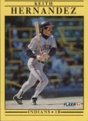 1991 Fleer #368 Keith Hernandez