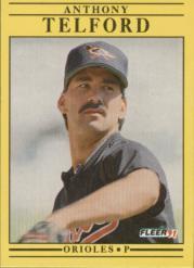1991 Fleer #493 Anthony Telford RC