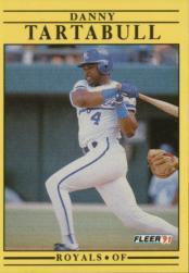 1991 Fleer #572 Danny Tartabull