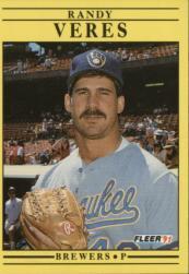 1991 Fleer #600 Randy Veres