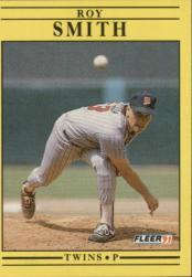 1991 Fleer #624 Roy Smith