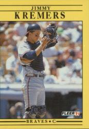 1991 Fleer #694 Jimmy Kremers