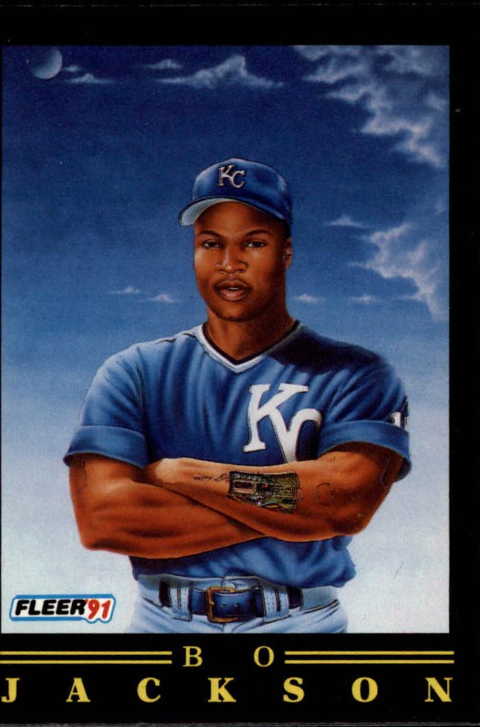 1991 Fleer Pro Visions 5 Bo Jacksonbio Says 6 Othershave Him At