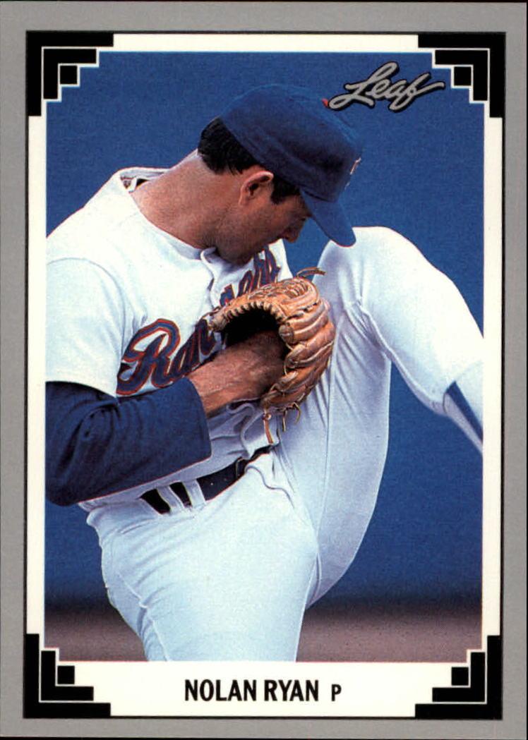 1991 Leaf Previews #25 Nolan Ryan