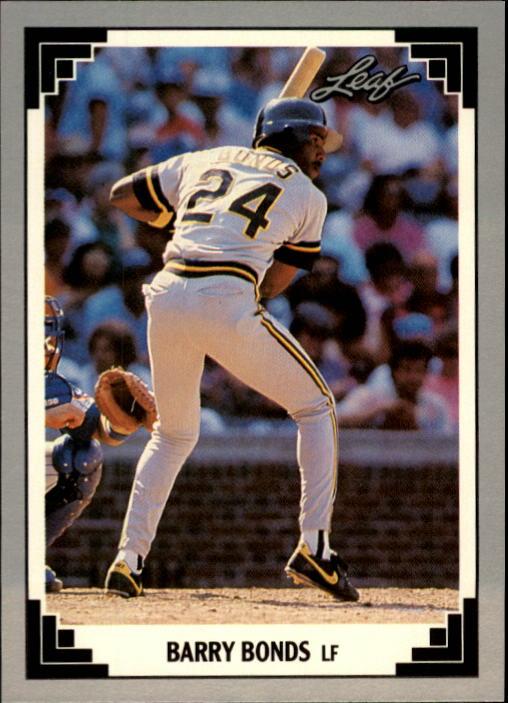 1991 Leaf #261 Barry Bonds