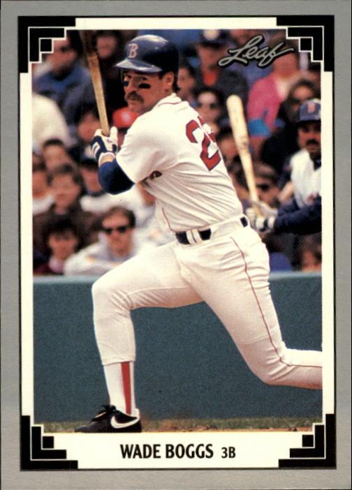 1991 Leaf #273 Wade Boggs