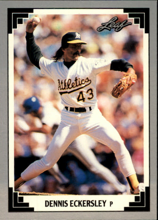 1991 Leaf #285 Dennis Eckersley