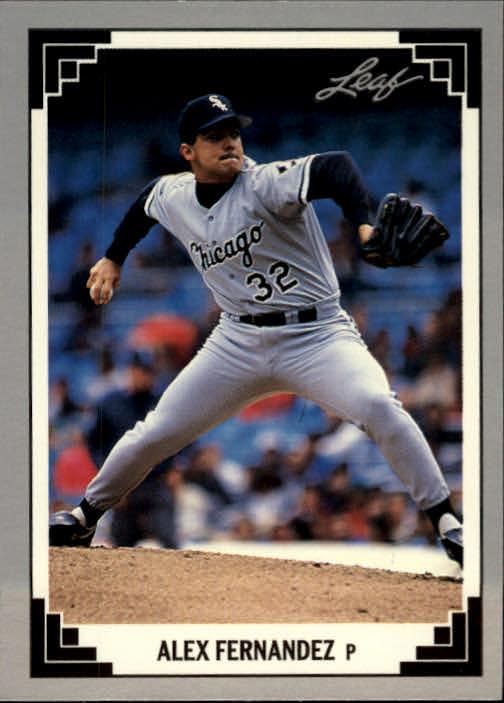 1991 Leaf #296 Alex Fernandez