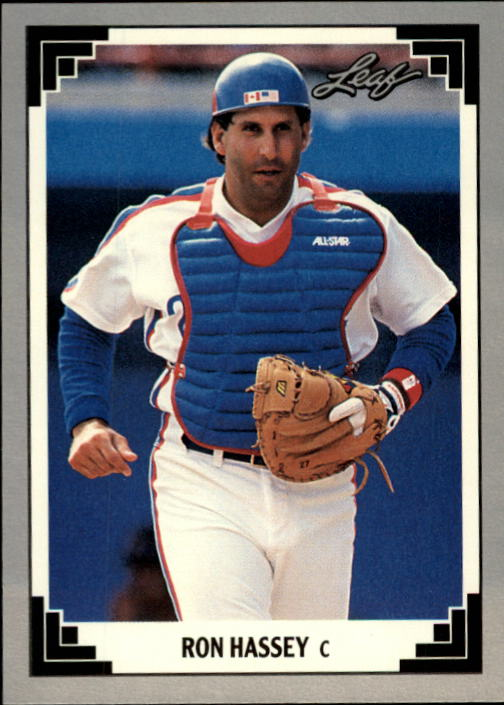 1991 Leaf #359 Ron Hassey