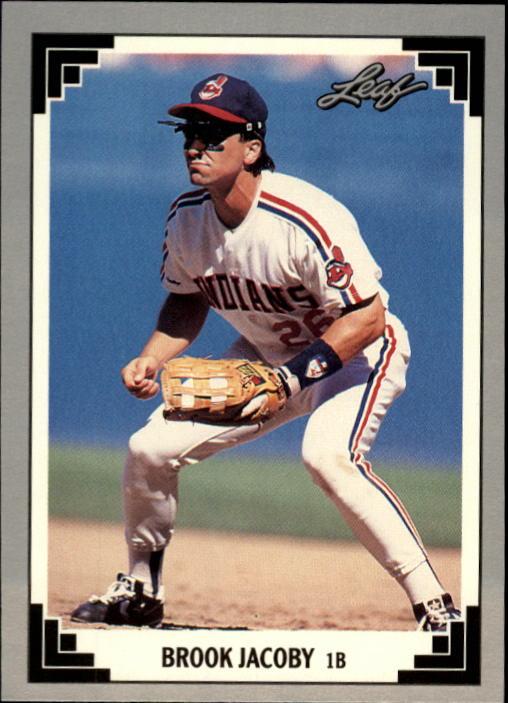 1991 Leaf #421 Brook Jacoby