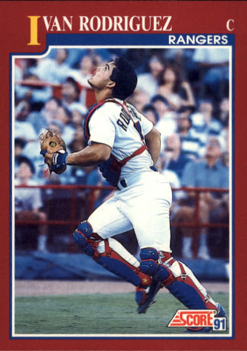 1991 Score Rookie/Traded #82T Ivan Rodriguez RC