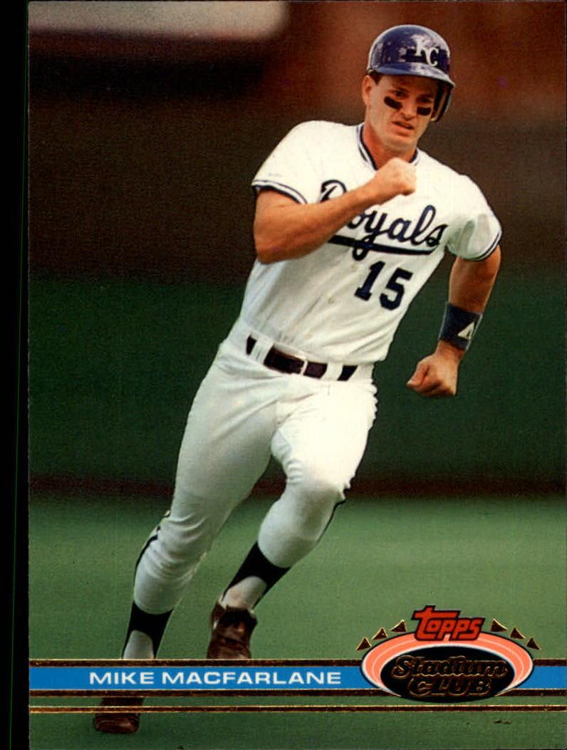 1991 Stadium Club #15 Mike Macfarlane