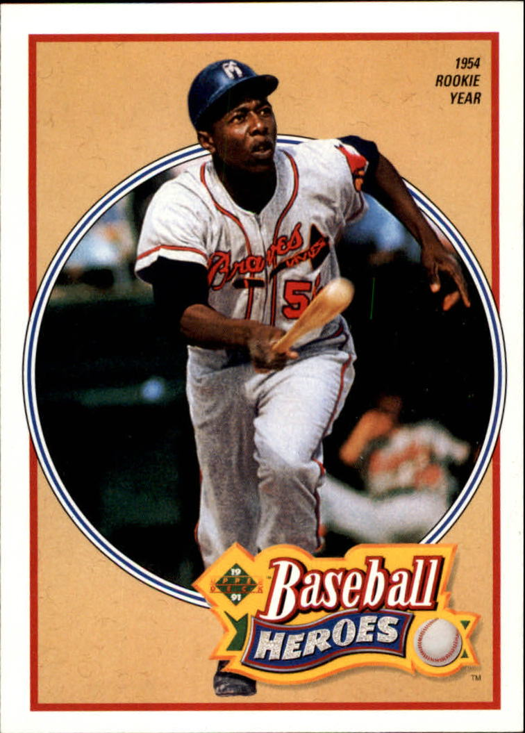 1991 Upper Deck Aaron Heroes #19 Hank Aaron