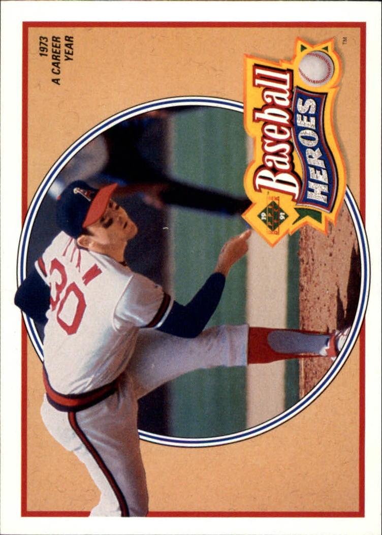 1991 Upper Deck Ryan Heroes #11 Nolan Ryan