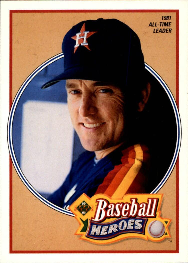 1991 Upper Deck Ryan Heroes #14 Nolan Ryan