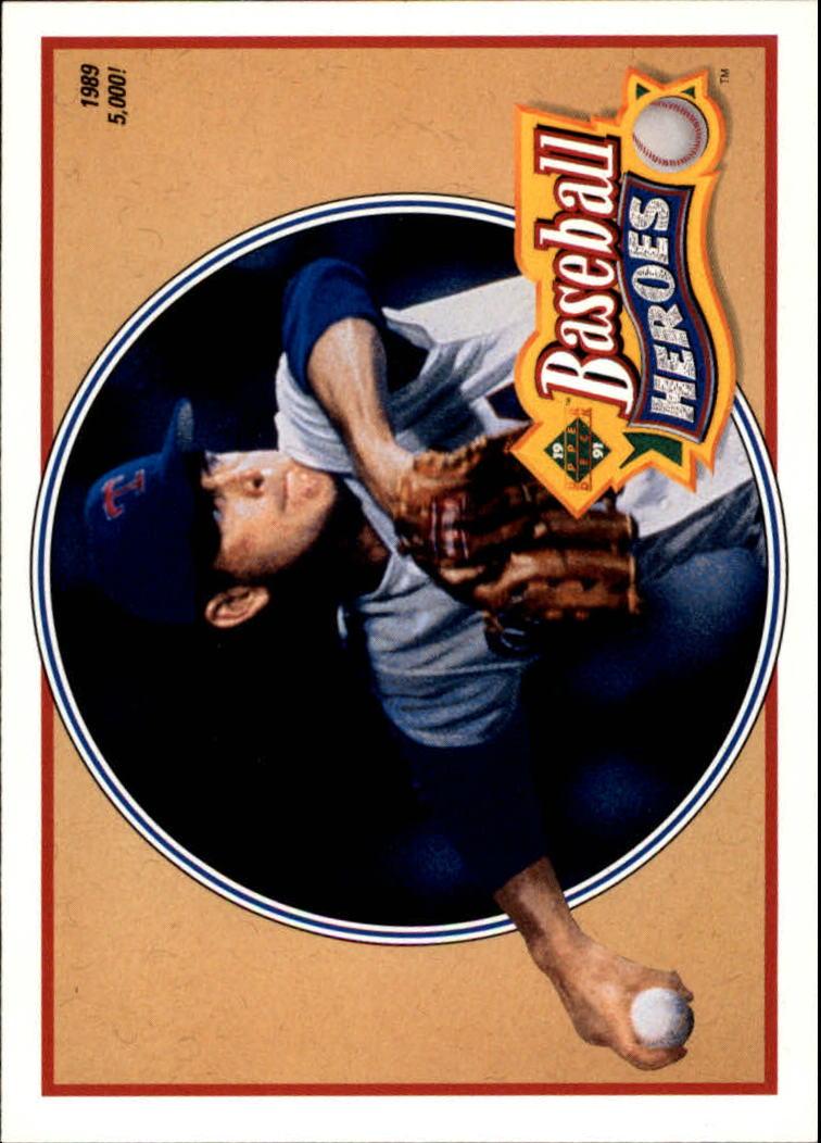 1991 Upper Deck Ryan Heroes #15 Nolan Ryan