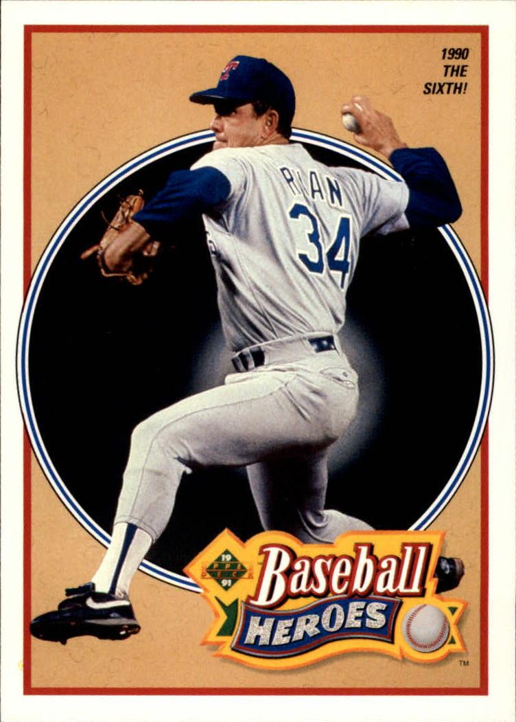 1991 Upper Deck Ryan Heroes #16 Nolan Ryan