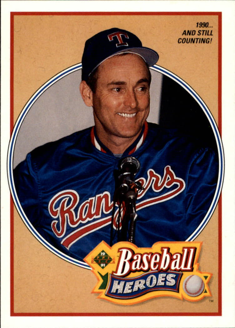 1991 Upper Deck Ryan Heroes #17 Nolan Ryan