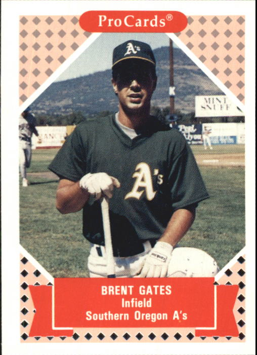 1991-92 ProCards Tomorrow's Heroes #133 Brent Gates