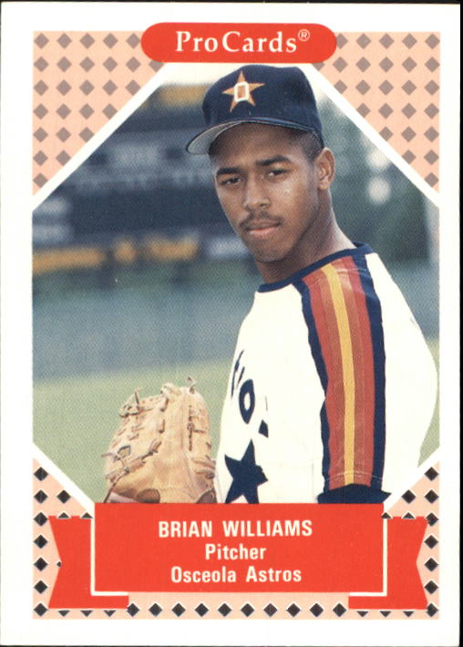 1991-92 ProCards Tomorrow's Heroes #228 Brian Williams