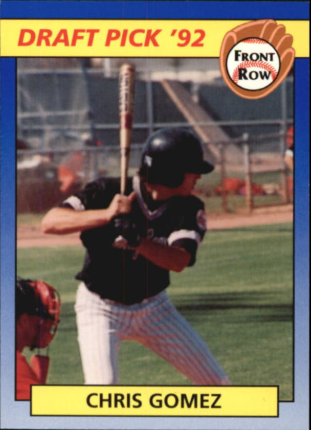 1992 Front Row Draft Picks #34 Chris Gomez
