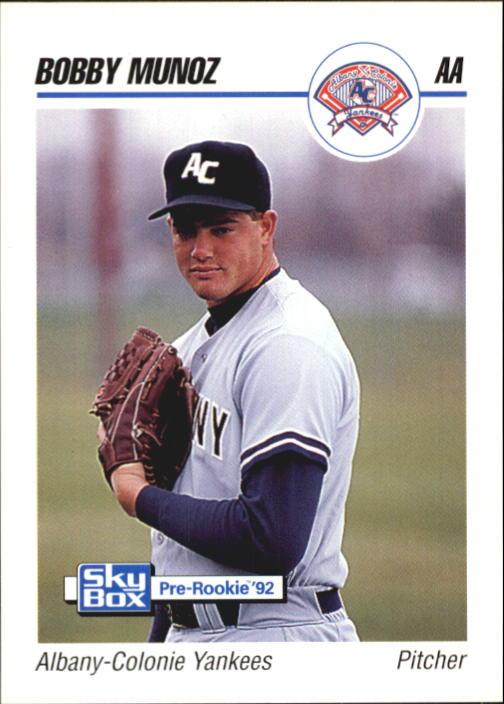 1992 SkyBox AA #8 Bobby Munoz
