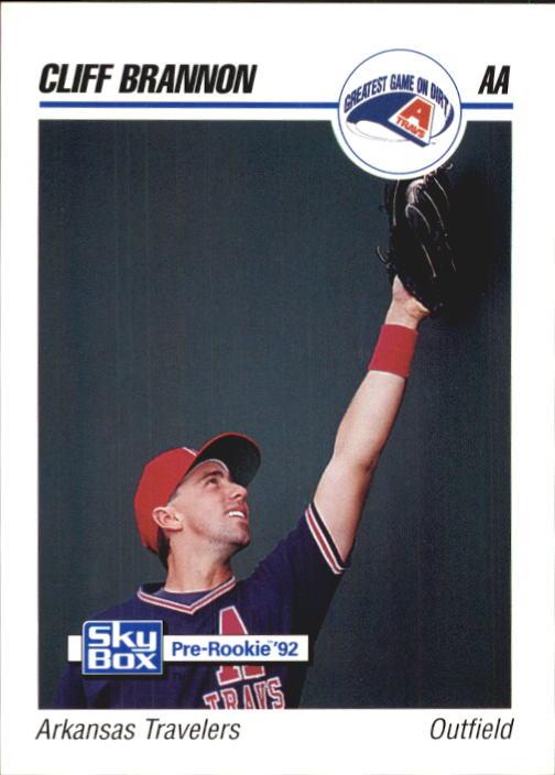 1992 SkyBox AA #12 Cliff Brannon