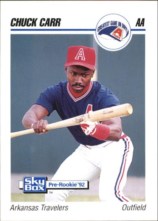 1992 SkyBox AA #13 Chuck Carr