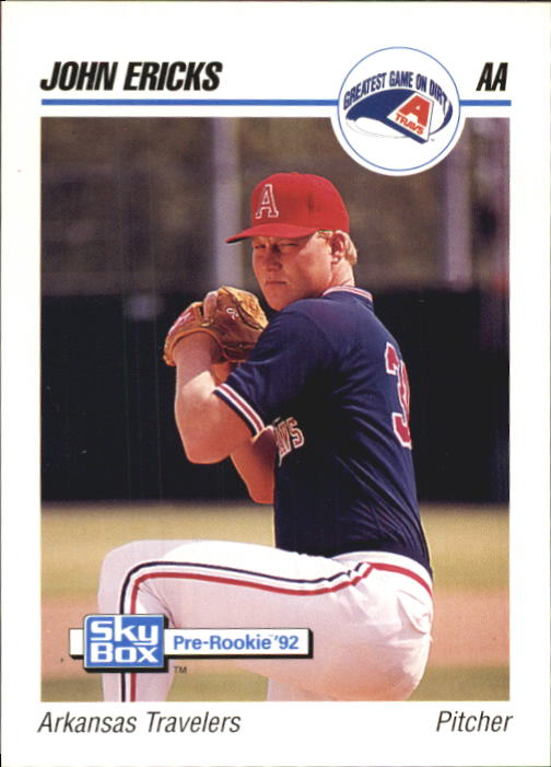 1992 SkyBox AA #16 John Ericks