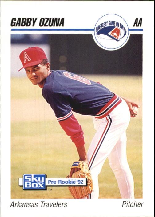 1992 SkyBox AA #17 Gabby Ozuna