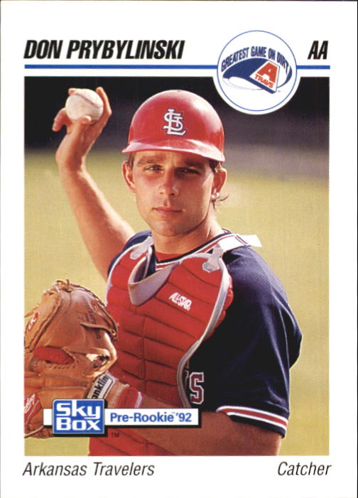 1992 SkyBox AA #18 Don Prybylinski