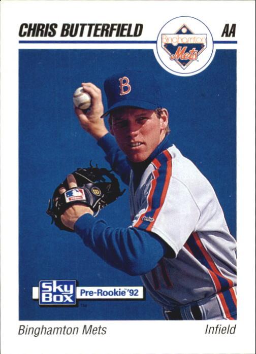 1992 SkyBox AA #22 Chris Butterfield