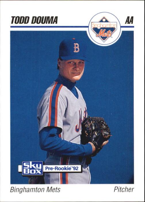 1992 SkyBox AA #23 Todd Douma