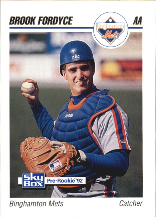 1992 SkyBox AA #24 Brook Fordyce