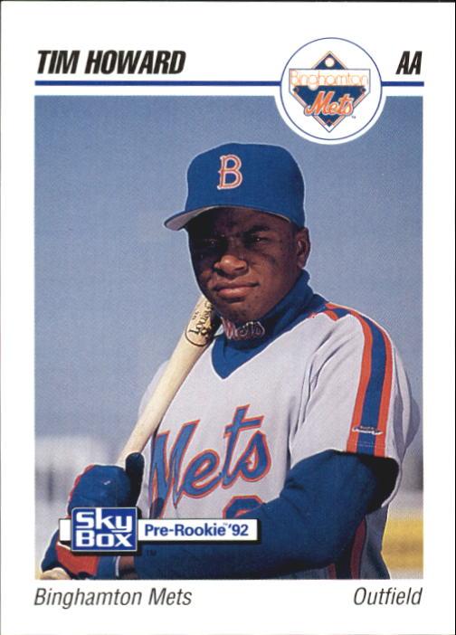 1992 SkyBox AA #25 Tim Howard