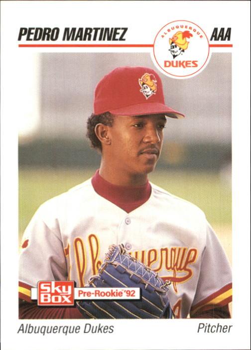 1992 SkyBox AAA #5 Pedro Martinez